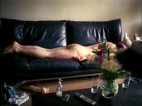 """Beso Uznadze, """"Chrysanthemums"""", """"Don't Wake me"""" series, 2010"""