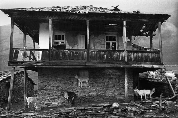 """Guia Chkhatarashvili, """"Goats"""" 1997, """"Ushguli"""" series, 1991-2000"""