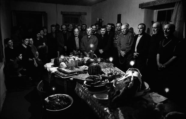 """Guia Chkhatarashvili, """"Anniversary"""" 1997, """"Ushguli"""" series, 1991-2000"""