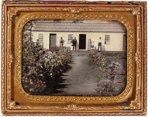 Неизвестный автор. Раскрашенный дагеротип. Ок. 1850 г.