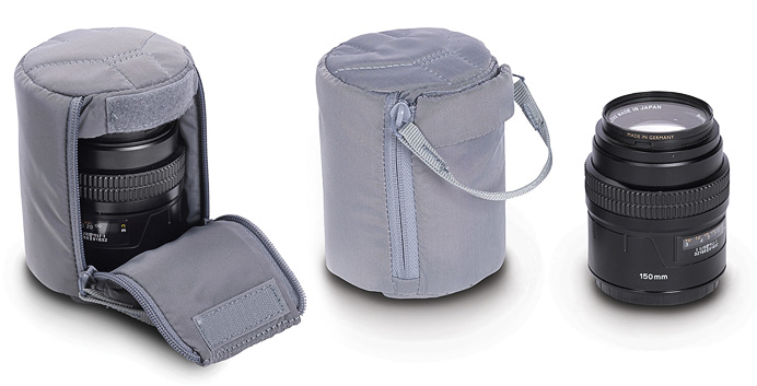 Сумка-кармашек Manfrotto Astuccio III lens pouch Grey