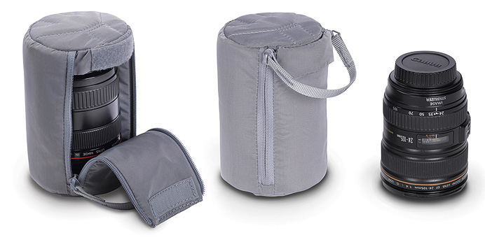 Сумка-кармашек Manfrotto Astuccio IV lens pouch Grey
