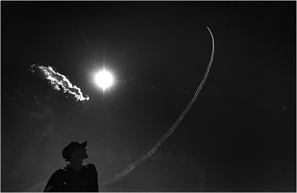 "Артём Житенев<br>Авиасалон ""МАКС"", г. Жуковский, 2004 год"