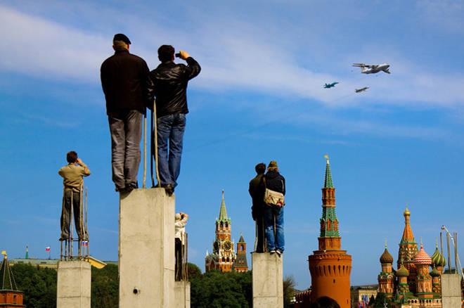 Иван Куринной<br>9-е мая 2008 г., Москва, Парад на Красной Площади
