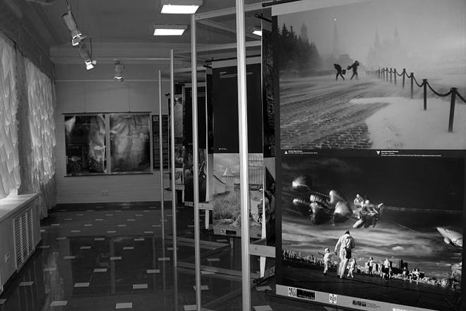 Вид экспозиции в выставочном зале музея им. В. К. Арсеньева