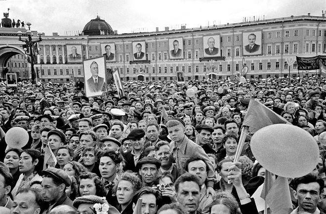 Первомай. 01.05.1957