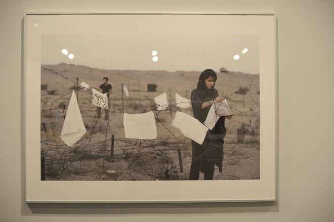 """Из выставки """"Политический аффект и эффект""""  © Gohar Dashti"""