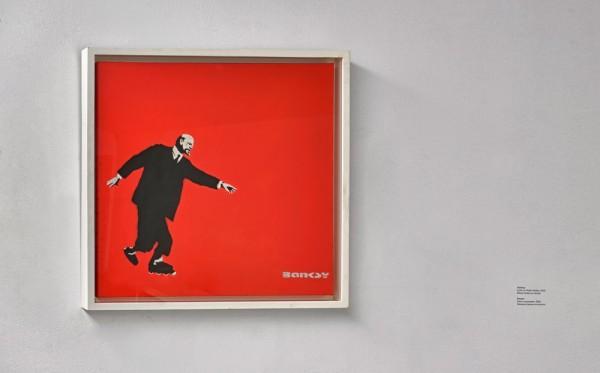Бенкси. Ленин на роликах. 2002