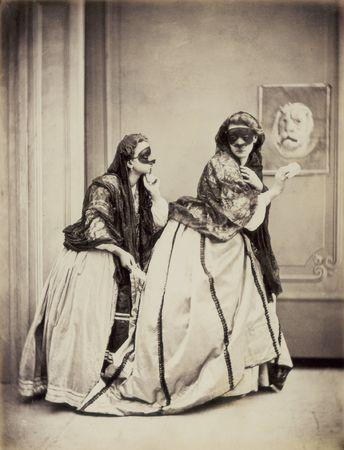 В. Джакомелли. Секретное послание. Ок.1880. Альбуминовый отпечаток.<br /> Музей истории фотографии братьев Алинари, Флоренция.