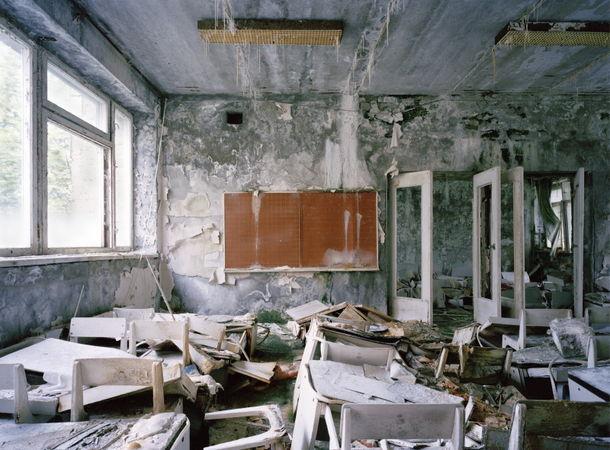 """© Андрей Кременчук. Детский сад """"Золотой Ключик"""", Припять, 2011"""