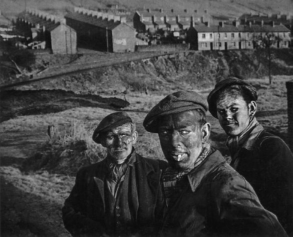 Three Generations of Welsh Miners (1950) © W. Eugene Smith