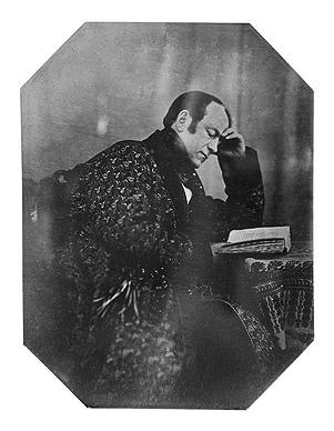 А.А.Бобринский Автопортрет. 1842
