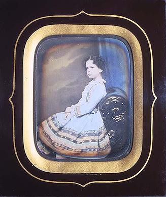 Ателье С.Левицкого. Портрет М.Б. Перовской. 1850-е