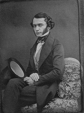 Ателье Иосифа Венингера. Портрет молодого человека. 1840-е