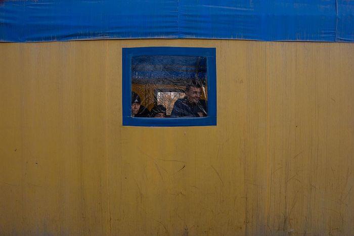 ©Анзор Бухарский. «Палаточная чайхана  из баннерной ткани»