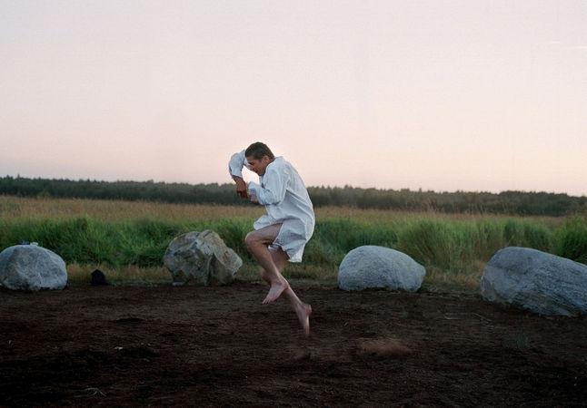 Reijo Kela. 365 Days, 2006. Video installation<br /> Рейо Кела. 365 дней, 2006. Видеоинсталляция