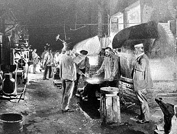Кузница на заводе Людвига Нобеля В Санкт-Петербурге