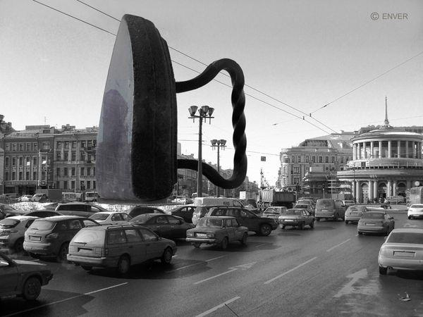 """Горячая скульптура. Из серии """"Вещи вне жизни"""""""