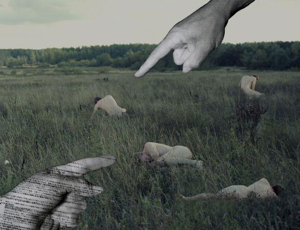"© Katerina BODRUNOVA. The Hunt<br /> Из проекта ""My Own Wilderness"""