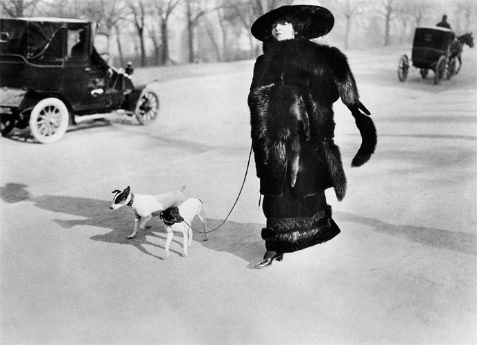 Жак-Анри Лартиг (Jacques Henri Lartigue). Avenue du Bois de Boulogne, 1911