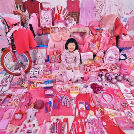 © JeongMee Yoon<br />Jiseon and Her Pink Things, 2008