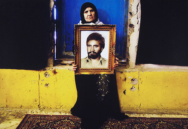 Newsha Tavakolian. From the series Mothers of Martyrs, 2006 <br>Photograph: Art Fund Collection of Middle Eastern Photography at the V&A and the British Museum
