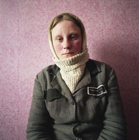 Natasha, Women's Prison, 2009 © Michal Chelbin