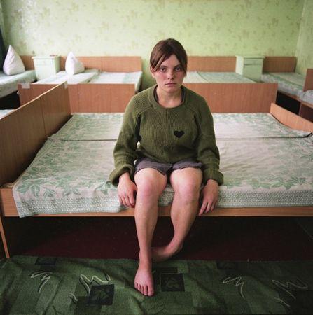 Black Heart, Juvenile Prison, 2009 © Michal Chelbin