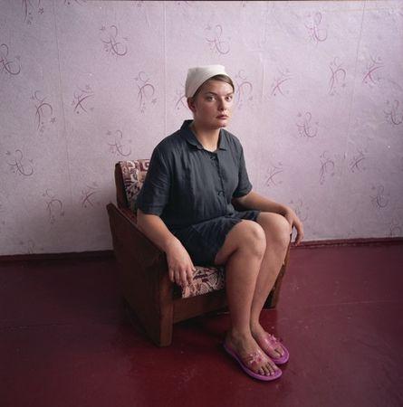 Marina, Juvenile Prison, 2009 © Michal Chelbin