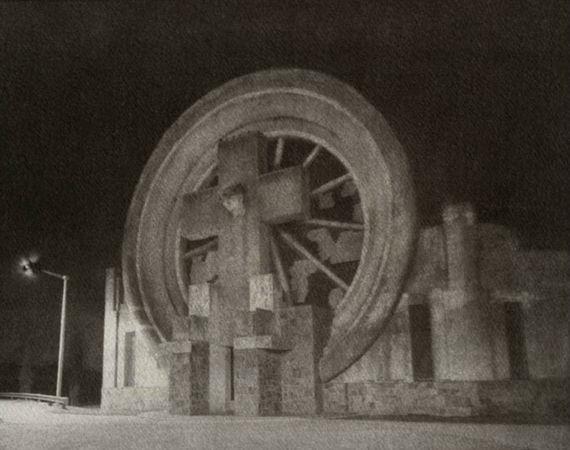 © Esteban Pastorino Diaz. Cementerio Saldungaray. 2000. Gum Print. 64x80 cm