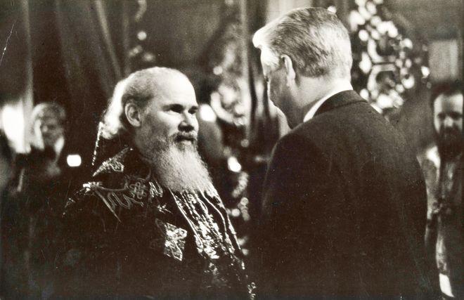 Олег Полещук. Исаакиевский собор, 1990