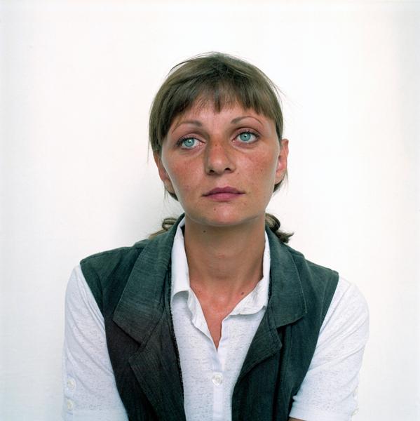 Заключенная Виктория. 2005. © Ольга Чагаутдинова