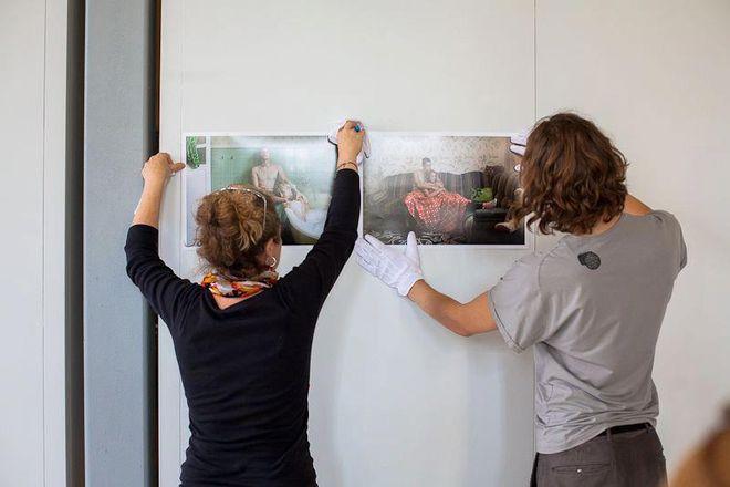 Развеска итого вои выставки<br />© фото предоставлено организаторами ISSP