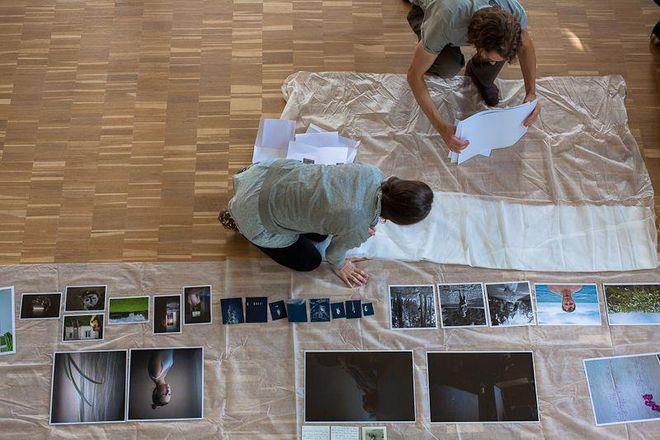 Подготовка к итоговой выставке<br />© фото предоставлено организаторами ISSP
