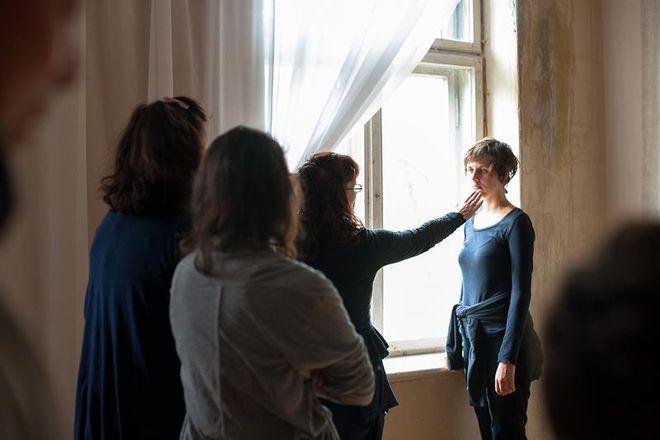 Хелен ван Мин учит портретнои съемке<br />© фото предоставлено организаторами ISSP