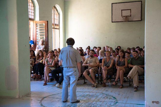 Лекция Кристиана Кужоля<br /> © фото предоставлено организаторами ISSP