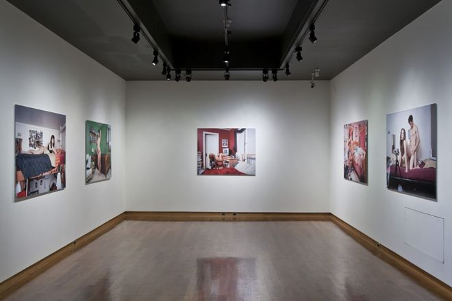 """Installation for """"The Brothel Without Walls"""", CONTACT Photography Festival, Toronto, 2010"""