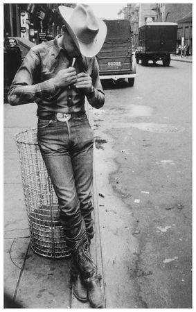 Robert Frank. Rodeo. New York City. 1954