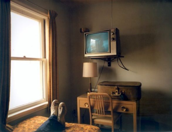 "Stephen Shore. Room 125, ""Uncommon Places"". July 18,1974"
