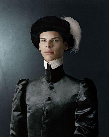 © Сhristian Tagliavini. 1503, Ritratto di giovane uomo con cappello piumato / Portrait of a young man with plumed hat