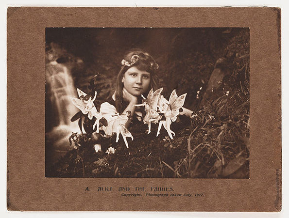 Cottingley Fairies with Frances
