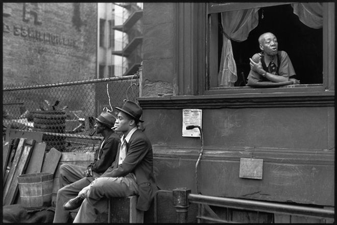 Henri Cartier-Bresson Harlem, New York, 1947. © Henri Cartier-Bresson/Magnum Photos, Courtesy Fondation Henri Cartier-Bresson