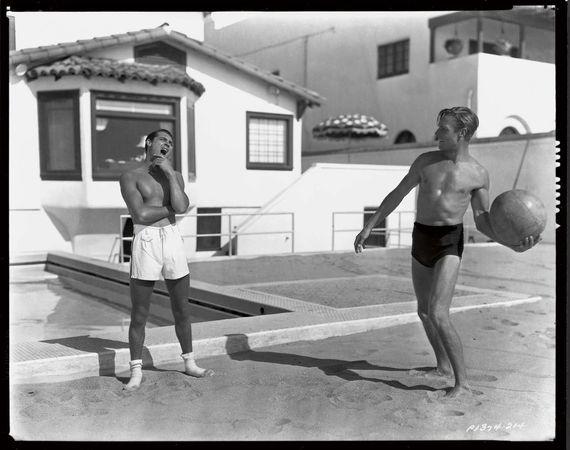 Cary Grant & Randolph Scott (ph-Jerome Zerbe/Paramount, 1935)
