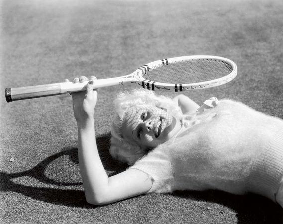 Jean Harlow (ph Virgil Apger/MGM, 1934)