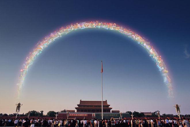 Rainbow N°3, 2005 © Courtesy of Jiang Zhi / Galerie Paris-Beijing