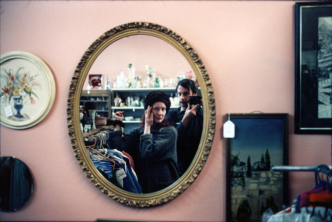 Mom and Me in Thrift Store. 2005. © Leigh Ledare