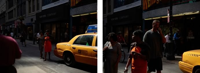© Paul Graham. Nassau Street, 7th September, 2010. diptyque