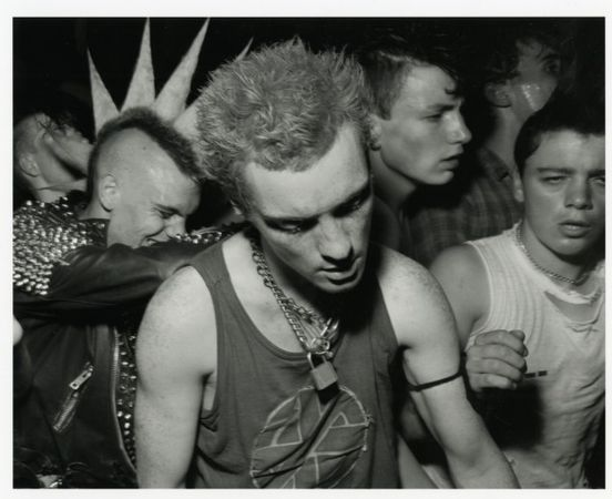 � Chris Killip, Punks, Gateshead, Tyneside, 1985 Courtesy of the Artist