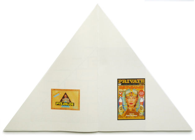 ENTER THE PYRAMID - Olivier Cablat. 22X30cm. Hard cover. 72 pages. 72 color photographs. ISBN: 979-10-90306-08-0. Publication date: Jully 2012