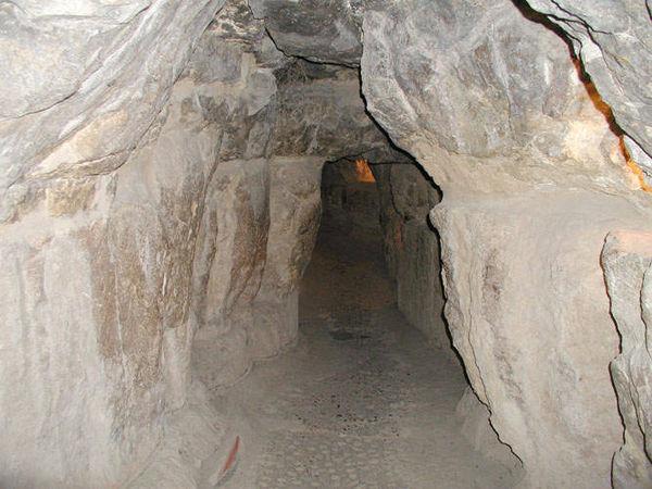 Реальный вход в пирамиду Хеопса